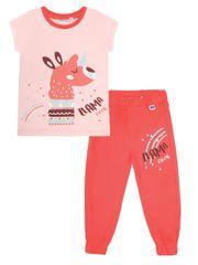 WINKIKI WKG01761-215 pidžama za djevojčice, 98, ružičasta