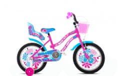 Adria Fantasy 16 otroško kolo, roza-modro