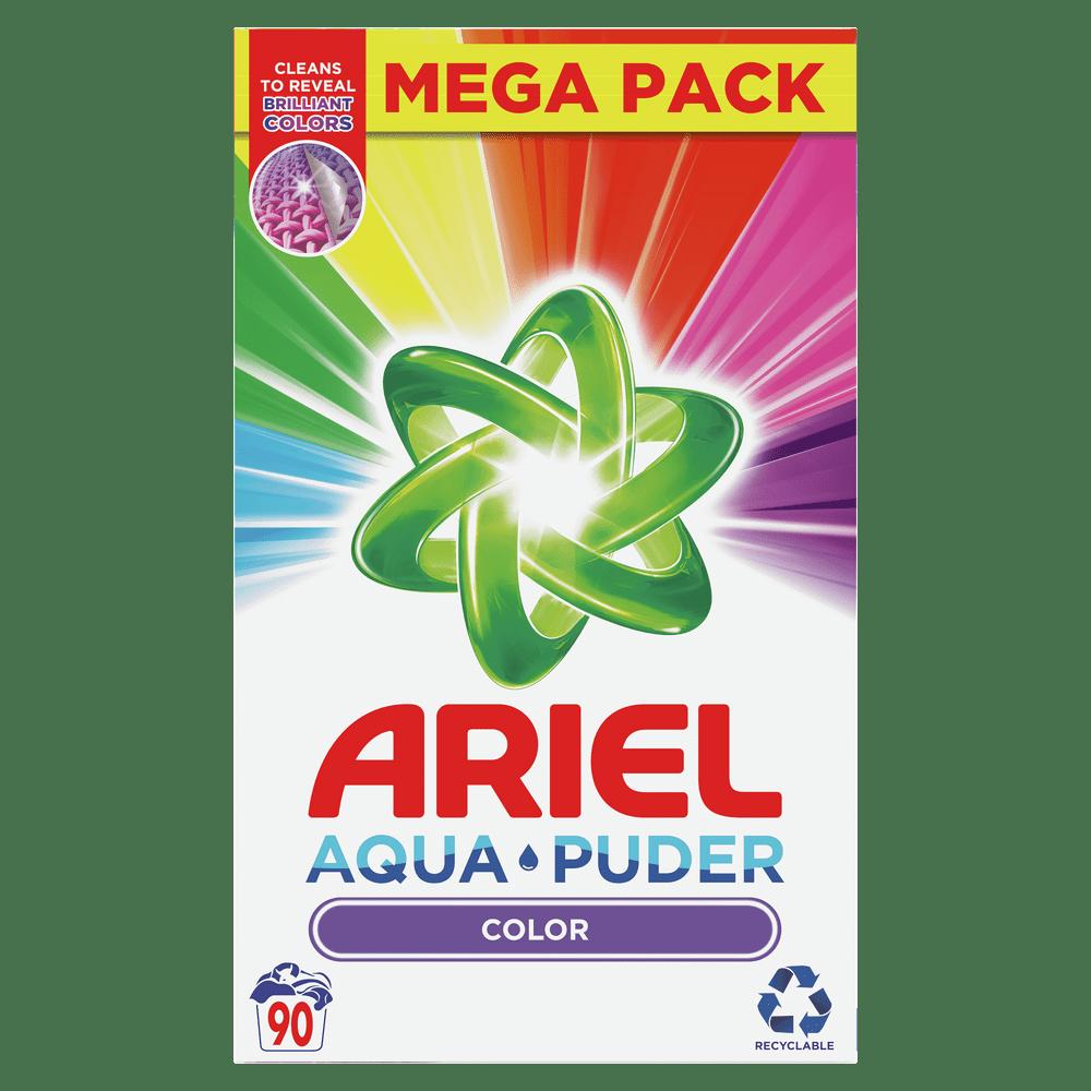 Ariel AquaPuder Color Prací Prášek 90 Praní
