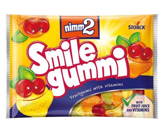 NIMM2 Smilegummi cukríky želé 100,000g (bal. 18ks)