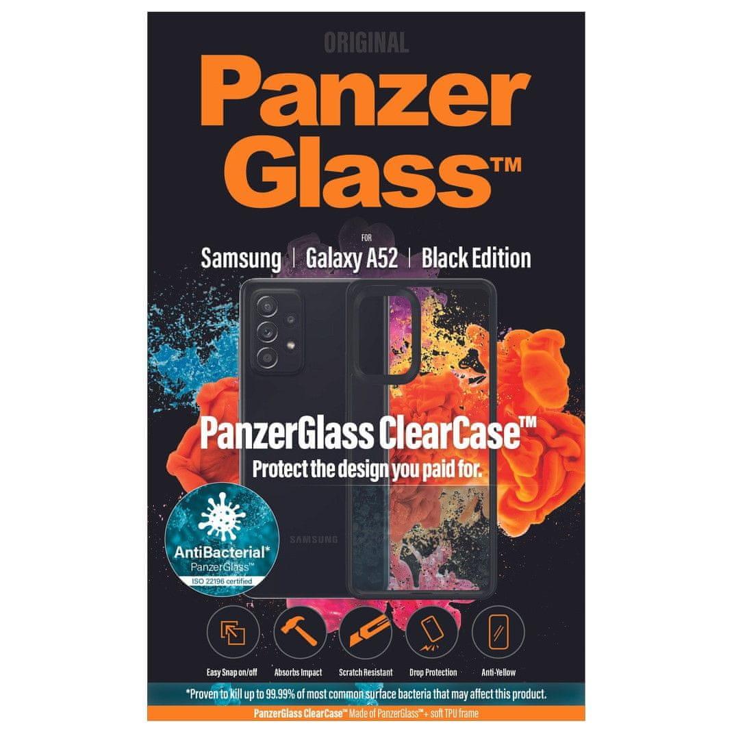 PanzerGlass ClearCase AntiBacterial a Samsung Galaxy A52 készülékhez