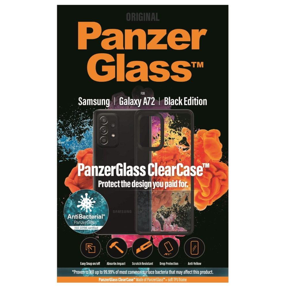 PanzerGlass ClearCase Antibacterial za Samsung Galaxy A72