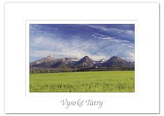 tvorme pohľadnica Vysoké Tatry II