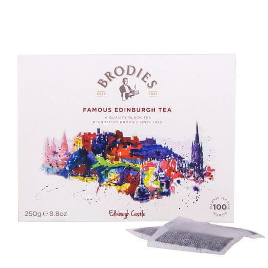 Brodies Famous Edinburgh Tea 100 × 2,5 g