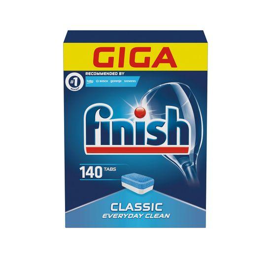 Finish tabletki do zmywarki Classic, 140 szt.
