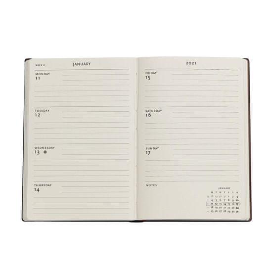 Paperblanks planer 2021, 12-mjesečni, mini, vodoravni, Chloe