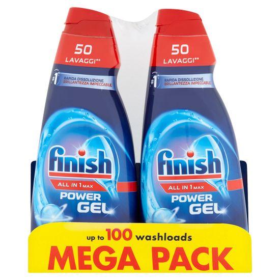 Finish All in 1 Max Shine & Protect mosogatógép gél 2 × 1000 ml