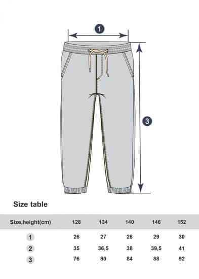 WINKIKI hlače za dječake WJB01730-090