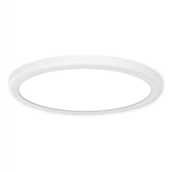 Mlight Mlight vstavané a prisadené svietidlo Downlight RAINBOW kruh biela 18W / 25W IP44 stmievateľné 3000K / 4000K / 6000K