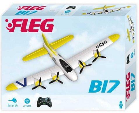 Fleg B-17 Lietadlo Fleg na diaľkové ovládanie