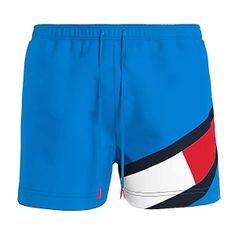 Tommy Hilfiger Moške plavalne kratke hlače UM0UM02048 -CYN (Velikost S)