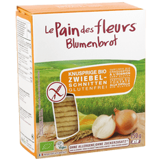 Le Pain des Fleurs Chrumkavý chlebíček s cibuľou (150 g)