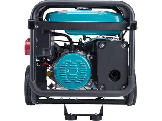 Heron elektrocentrála benzínová 15HP/6,8kW (400V), 5,5kW (230V), elektrický start, podvozek