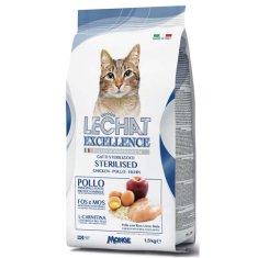 Monge LECHAT EXCELLENCE STERILIZED Chicken 1,5kg 35/11 superprémiové krmivo pro kočky
