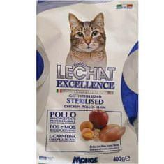 Monge LECHAT EXCELLENCE STERILIZED Chicken 400g 35/11 superprémiové krmivo pro kočky