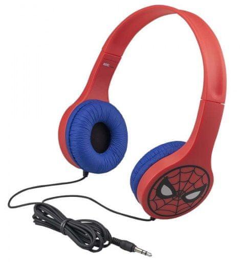 Conquest zestaw Spiderman - krótkofalówki, słuchawki, latarka, kompas