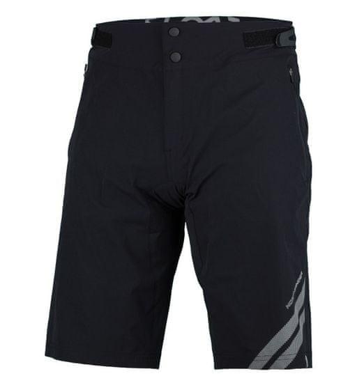 Northfinder Resmunsy1 kolesarske hlače 2 v 1, moške, črne