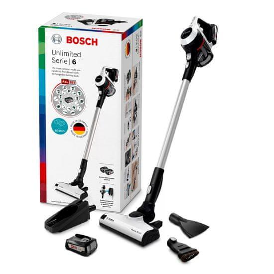 Bosch Unlimited BCS612W pokončni baterijski sesalnik