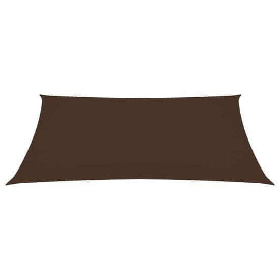 shumee Tieniaca plachta oxfordská látka obdĺžniková 3,5x4,5 m hnedá
