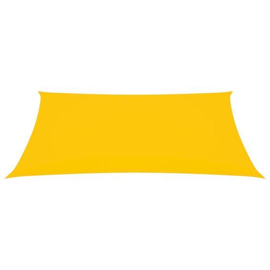 shumee Obdĺžniková plachta Oxford Cloth 2x4,5 m žltá