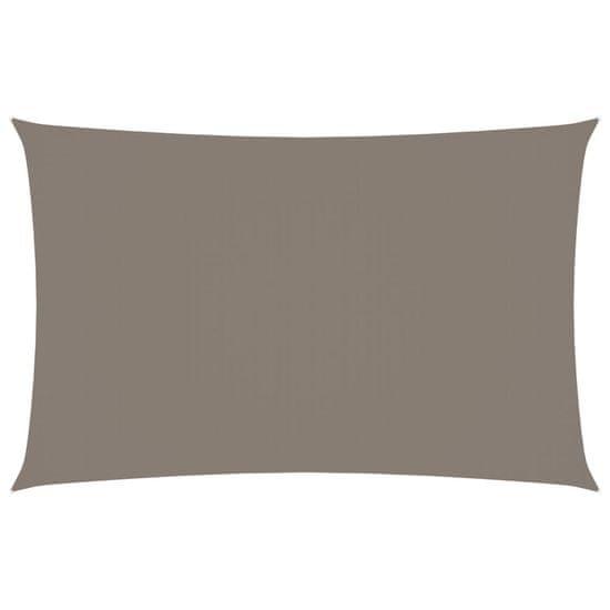 shumee Pravokotna vrtna jadra Oxford Cloth 5x8 m Taupe