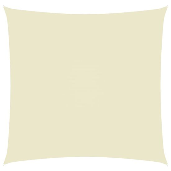shumee Vrtno jadro Oxford Cloth Square 2,5x2,5 m Krema