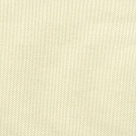 shumee Vrtno trikotno jadro Oxford Cloth 5x5x6 m krema