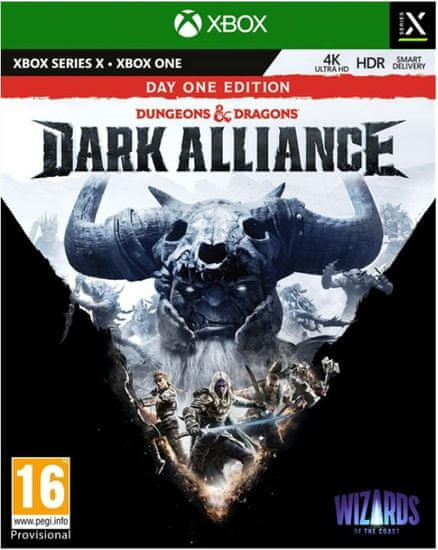 Deep Silver Dungeons and Dragons: Dark Alliance - Day One Edition igra (Xbox One in Xbox Series X)