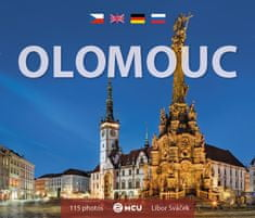 Olomouc – malý formát / kniha L. Sváček
