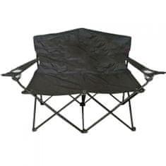 Dvosedežni stol ANGLER MC2505 Črne barve