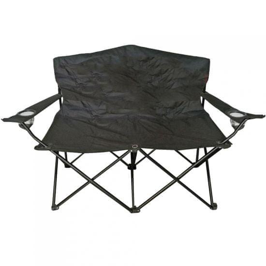 Linder Exclusiv Dvosedežni stol ANGLER MC2505 Črne barve
