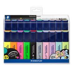 """Staedtler Zvýrazňovače """"Textsurfer Classic"""", 20 barev, 1-5 mm, 364 WP20"""