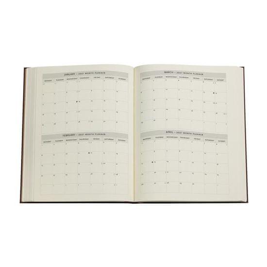 Paperblanks planer 2021, 12-mjesečni, Ultra, tjedni, Turquoise Chronicles