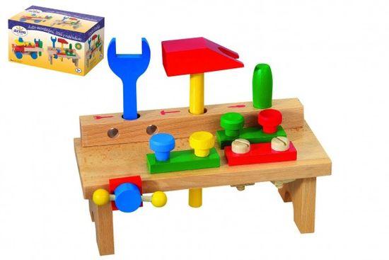 Detoa Stůl s nářadím dřevo