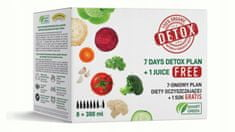 shumee Detox BOX Zestaw 7 dniowego detoksu sokami Smart G