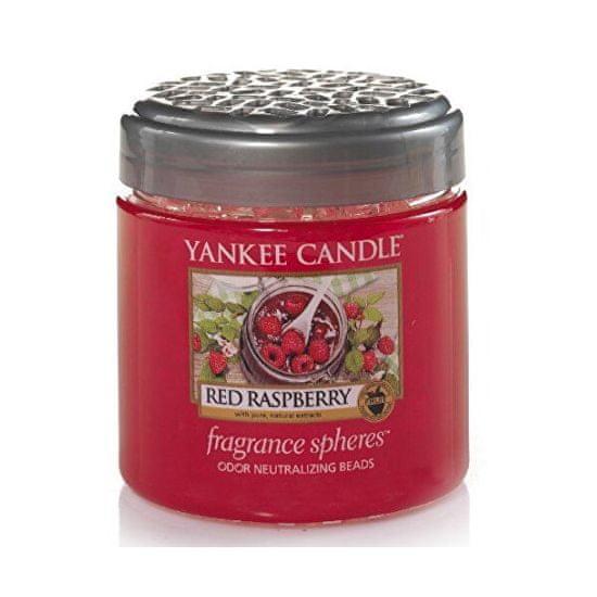 Yankee Candle Dišeči biseri Rdeča malina 170 g