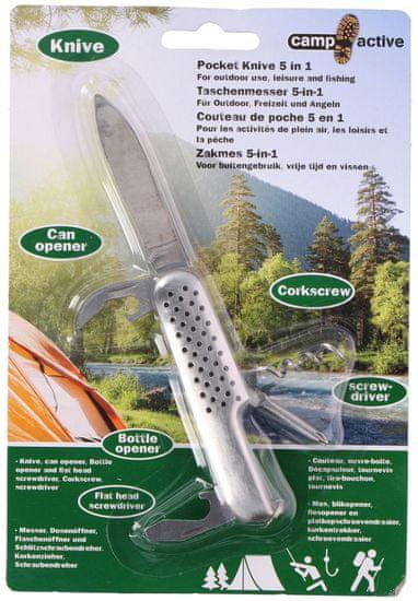 Camp Active nož za kampiranje 5 v 1