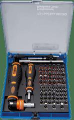 Narex  73-Tool Box MICRO Profi sada bitů 73 kusů