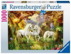 Ravensburger Puzzle 159925 Jednorožci v lese 1000 dílků