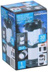 Grunding svetilka za kampiranje, 30 LED, 3 W