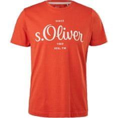 s.Oliver Férfi póló Regular Fit 13.103.32.X140.2461 (Méret 3XL)