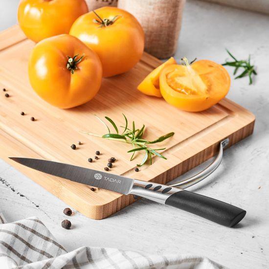 KonigHOFFER Nook univerzalni nož z zarezami, 12,5 cm