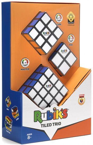 Rubik Rubikova kocka súprava Trio (2x2x2 + 3x3x3 + 4x4x4)