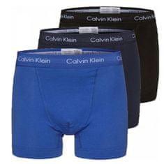 Calvin Klein 3 PAKET - moški bokserji U266 2G -4KU (Velikost S)