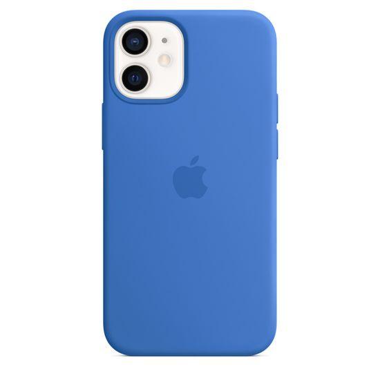Apple etui ochronne iPhone 12 mini Silicone Case with MagSafe (Capri Blue) MJYU3ZM/A