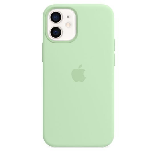 Apple iPhone 12 mini Silicone Case with MagSafe (Pistachio) MJYV3ZM/A