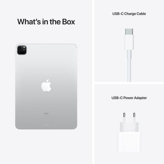 """Apple iPad Pro 11"""" 2021, Wi-Fi, 128GB, Silver (MHQT3FD/A)"""