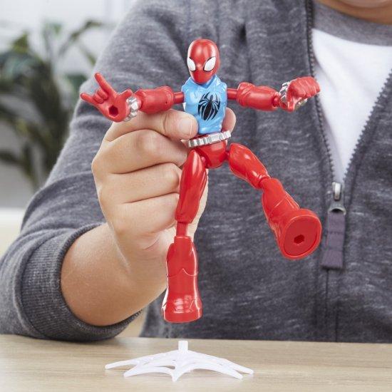 Avengers figurka Bend and Flex Scarlet Spider