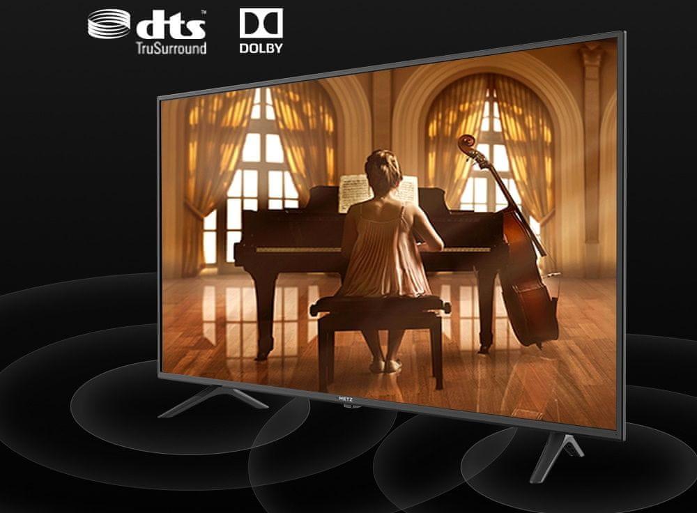metz tv televízia 4k 2021 dts trusurround dolby digital plus