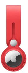 Apple AirTag Leather Loop obesek za ključe, rdeč (MK0V3ZM/A)